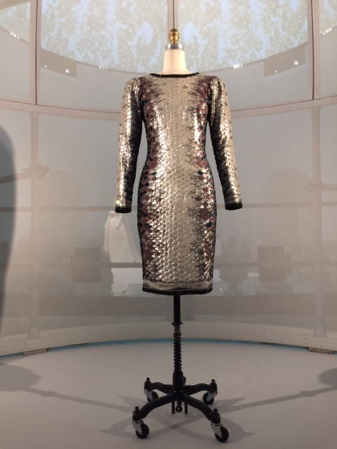 """Sardine"" Dress, Saint Laurent 1983"