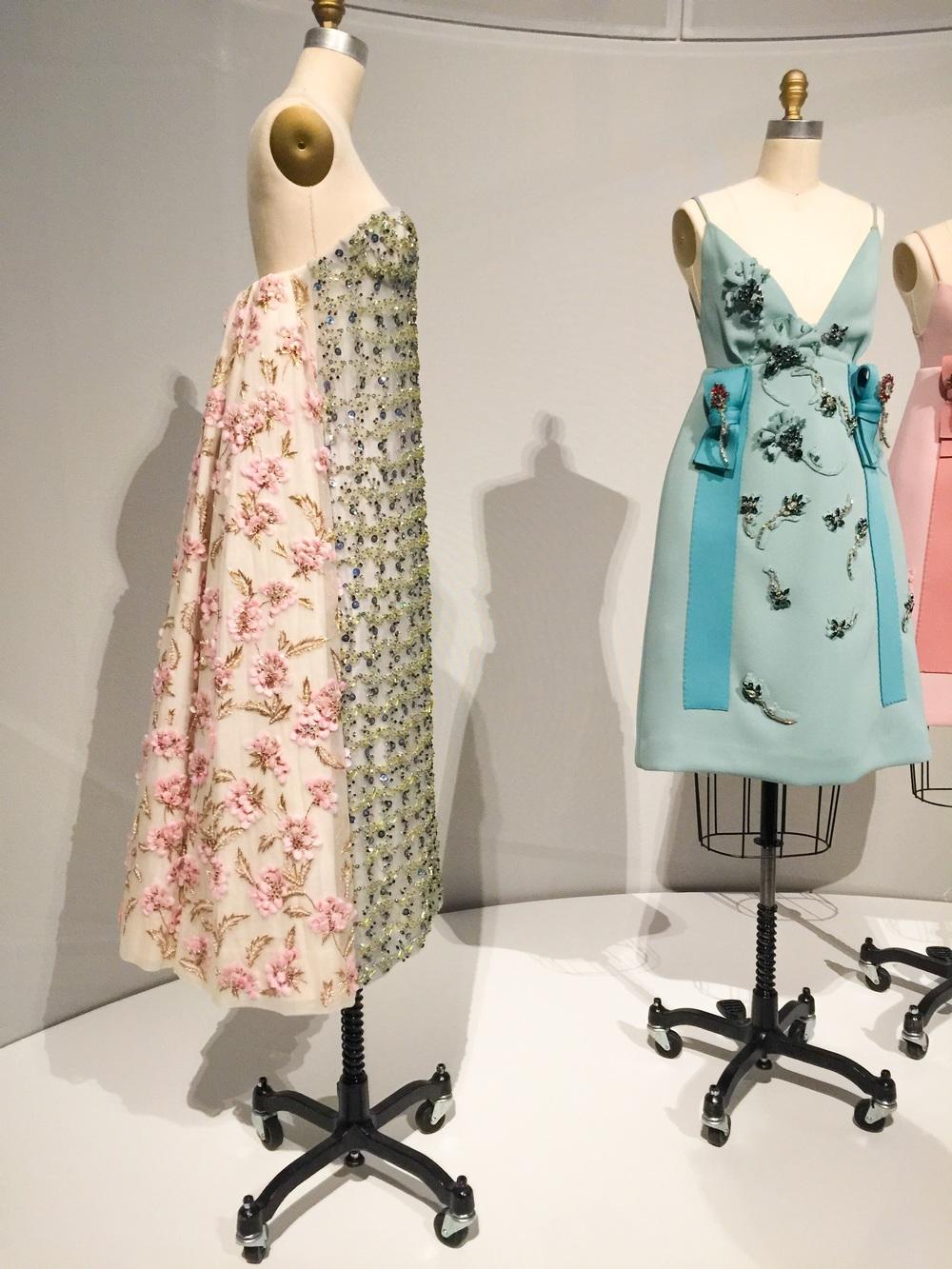 Raf Simons for Christian Dior, Autumn Winter 2012-13 Haute Couture; Prada Autumn Winter 2015 Ready to Wear