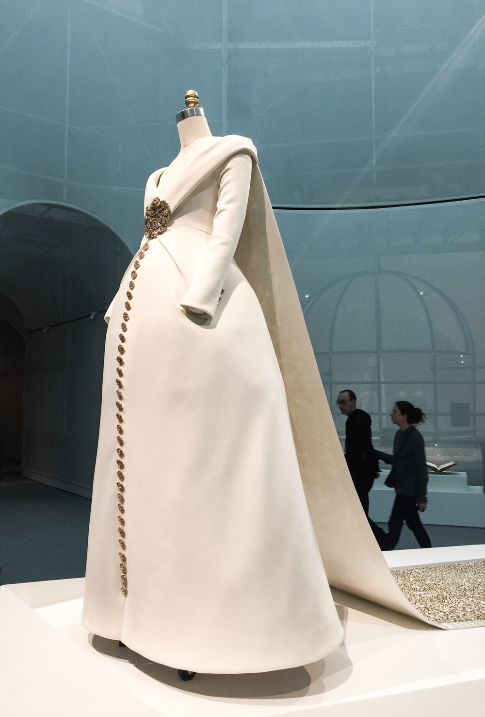 Karl Lagerfeld for House of Chanel, Wedding Ensemble, Autumn Winter 2014 Haute Couture
