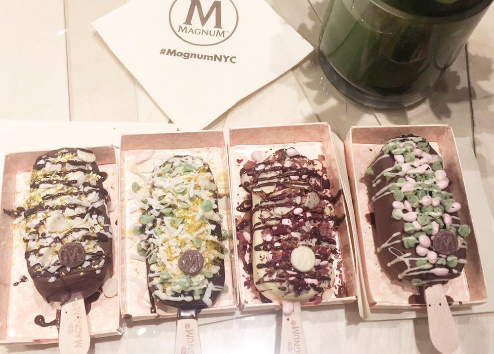 Magnum Ice Cream New York
