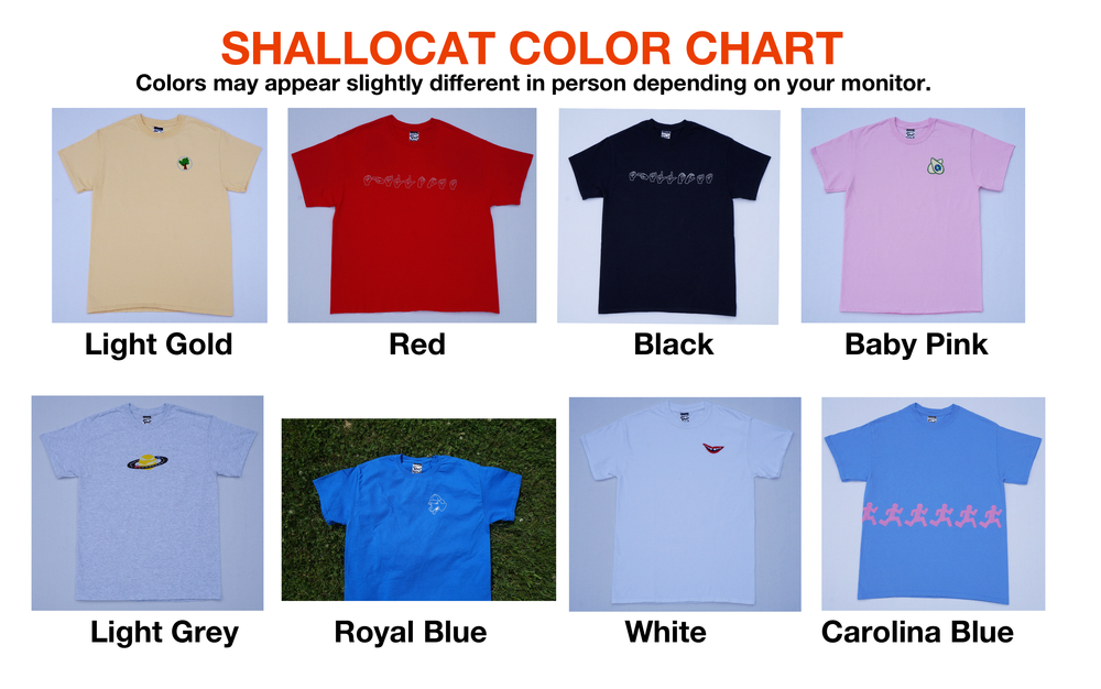 Color Chart Shallocat