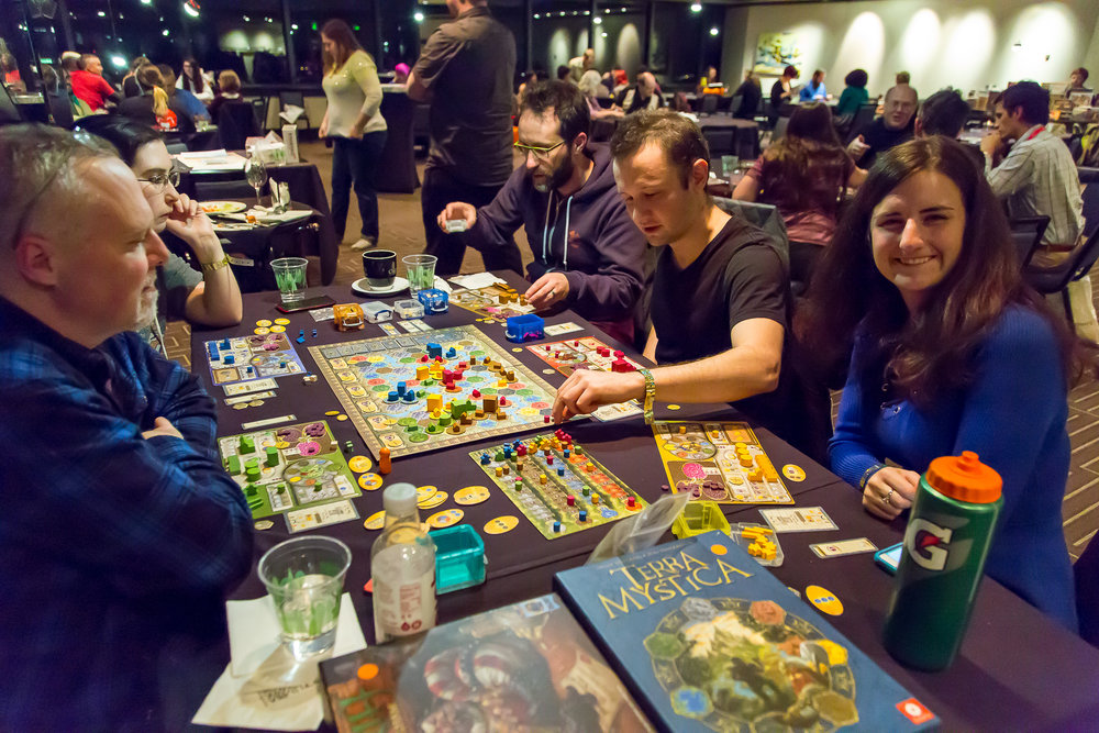 Click image to see the gallery from our latest Night of Board Gaming for Good, ComiCon Edition!