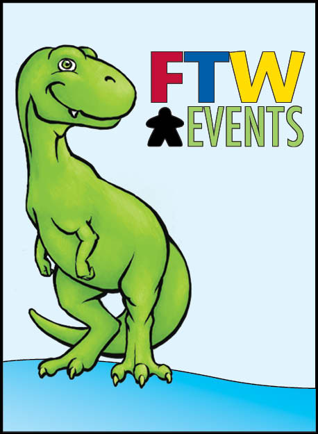 Rex, our FTW Events mascot. Isn't he adorable?!