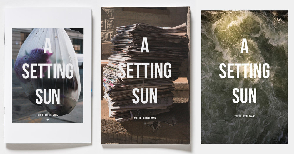 All three volumes of A Setting Sun