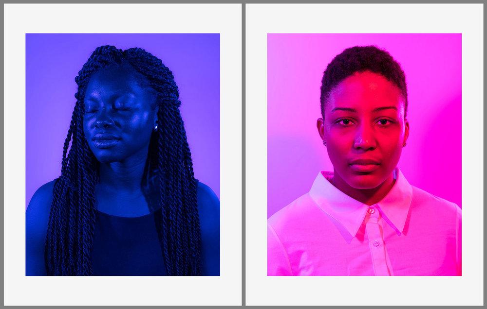 SWP X KGP Print Sale - Busola, 2016 and Jessica, 2016, 11 x 14