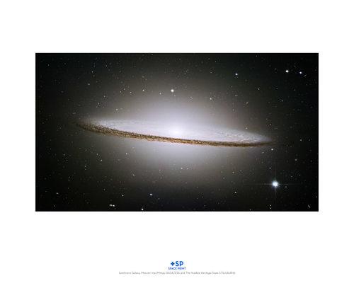 Sombrero Galaxy Messier 104 Print Kgp
