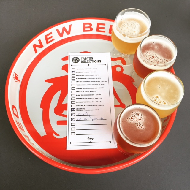 New Belgium flight.