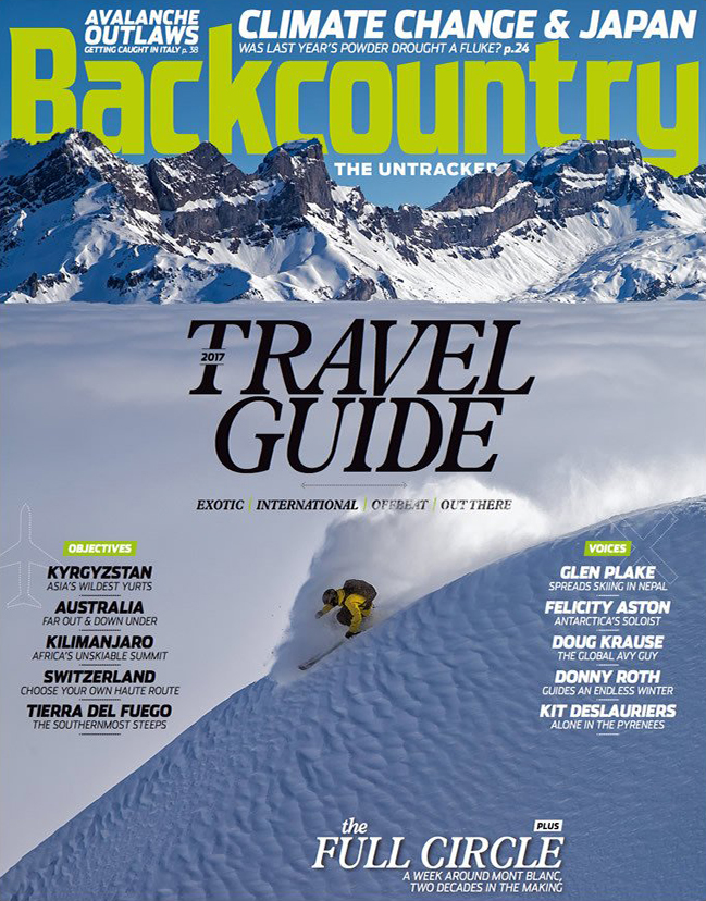 OCTOBER 2016    BACKCOUNTRY     USA
