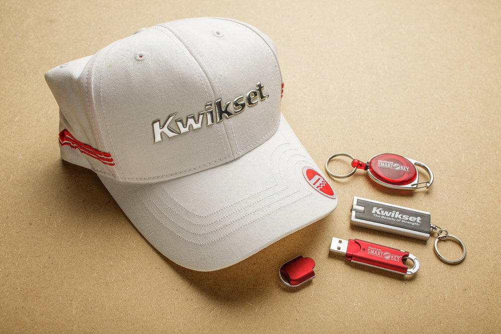 Kwikset   Supporting trade show events though original graphics, eye catching displays, and promotional give aways people want are what they ask for and we deliver.