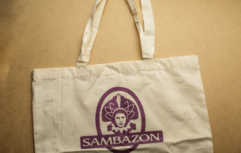 Sambazon   Our first meeting was about how to incorporate the Sambazon brand and values into a popular and well received product customers would keep and use. Nailed it.