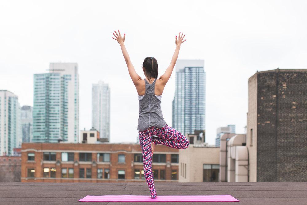Yoga — the nail and champagne bar