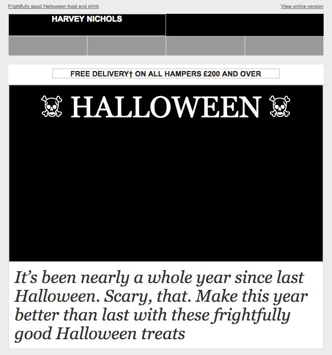 Harvey Nichols: Emoji Alt text