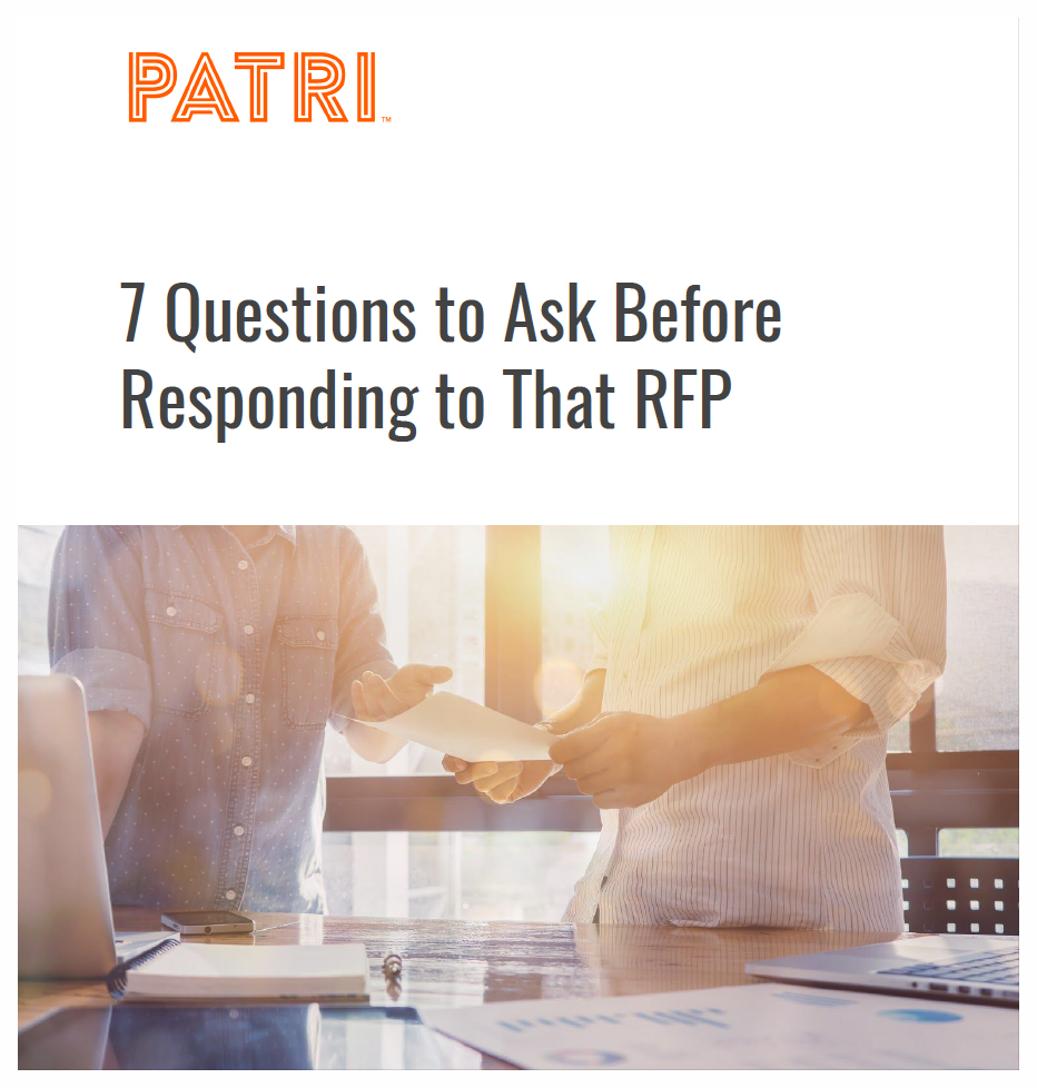 7 Questions to Ask Before Responding to That RFP Patri