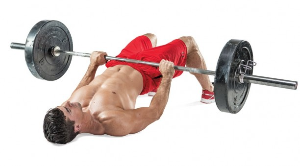 barbell-glute-bridges