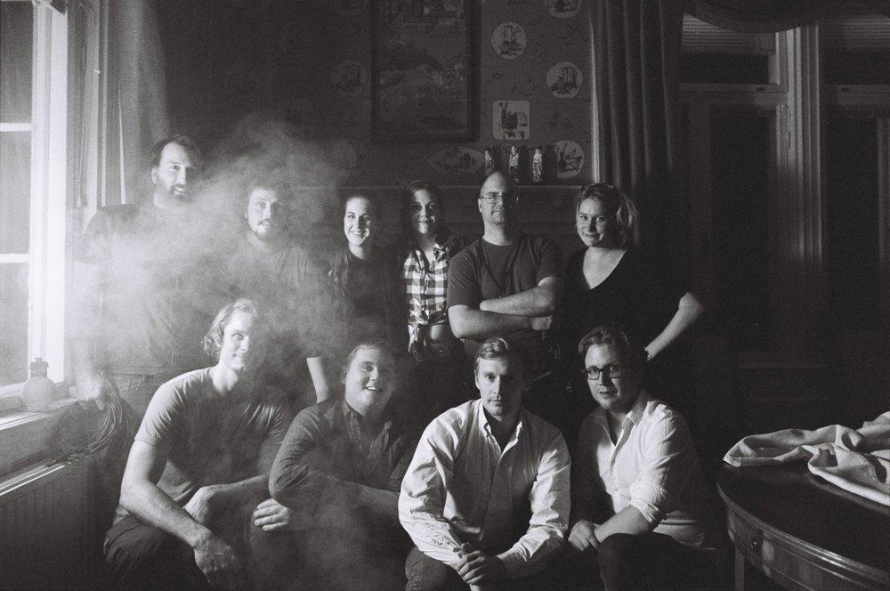 Reklamfilmspitch — with Gianluca Dolfi, Jesper Brodersen, Lovisa Lunneborg, Victor von Schirach, Hanna Edh, Anders Dahl, Nils Tamm, Marina Svala Nyström and Tom Cedwall.