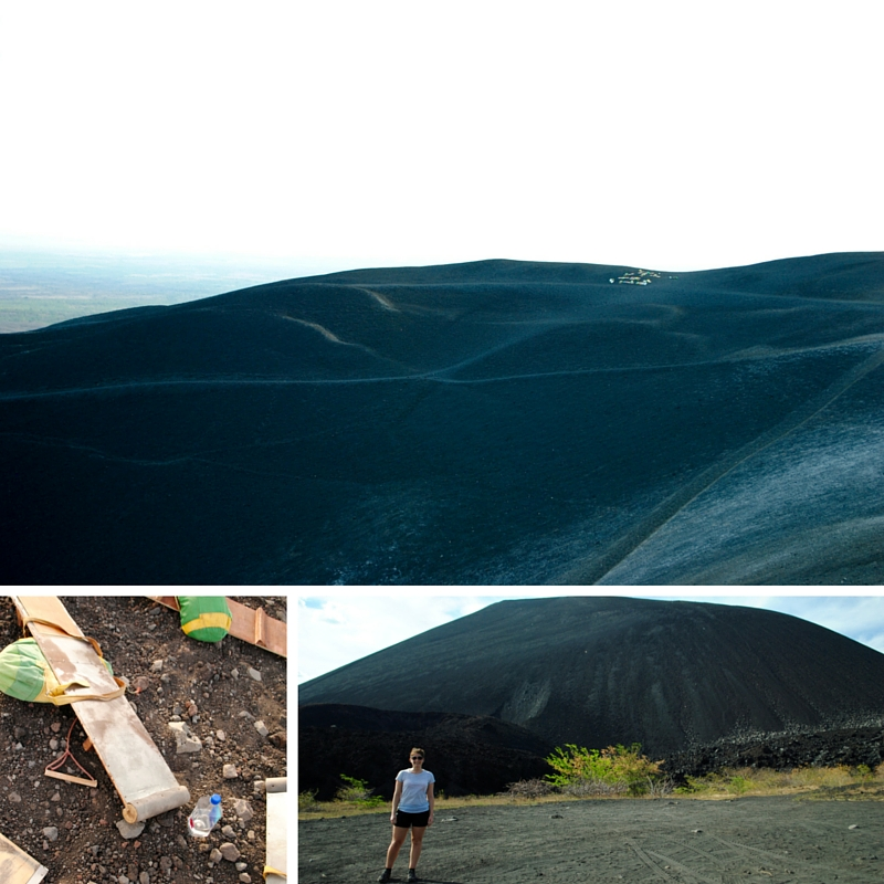 Volcano boarding Cerro Negro - a must do Leon activity!
