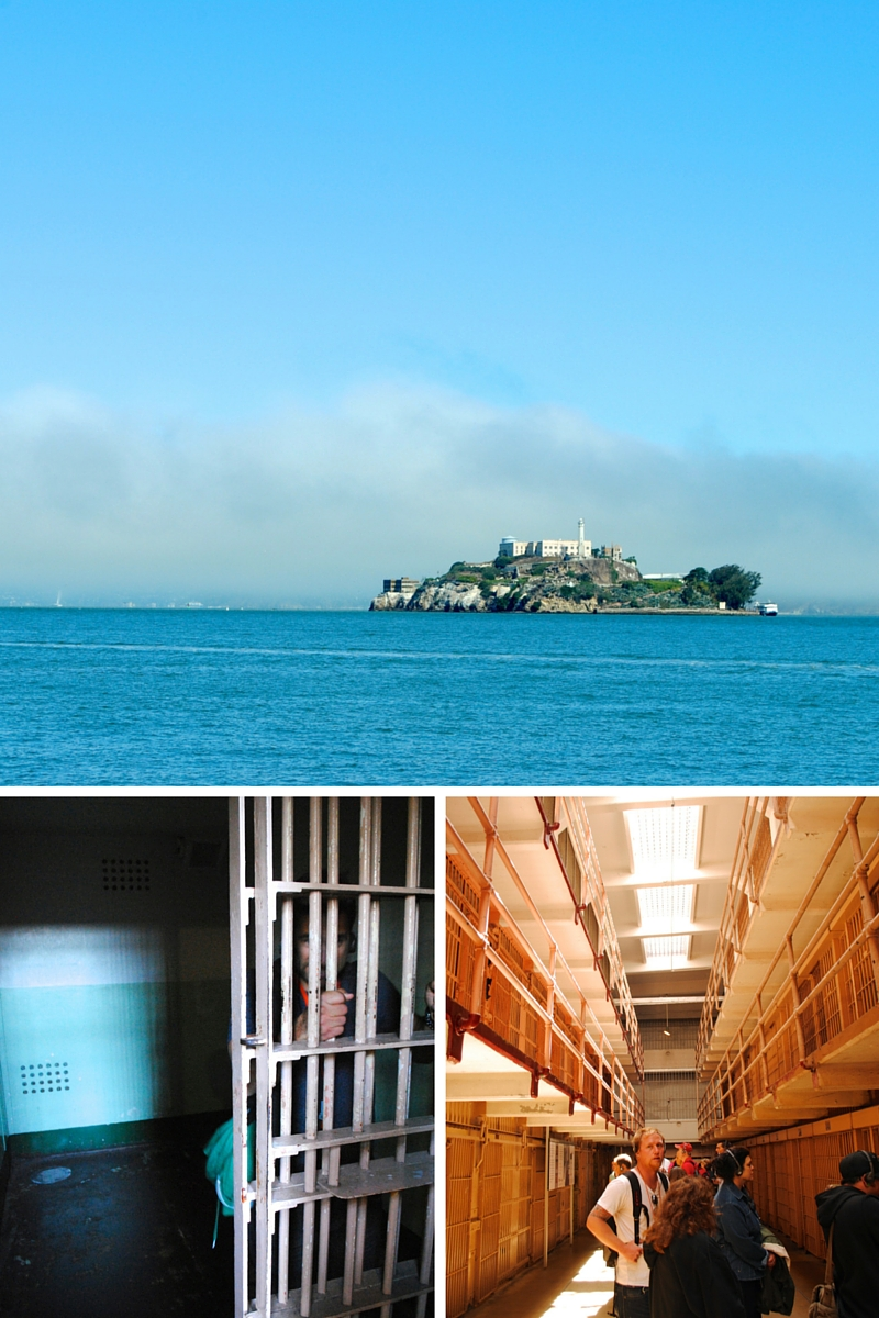 Alcatraz - a very cool self guided tour.