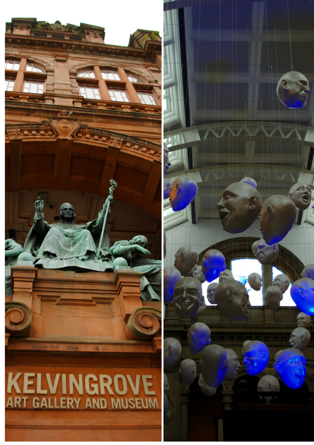 Kelvingrove Art Gallery and Museum - full of cool stuff, weird stuff, pretty stuff.