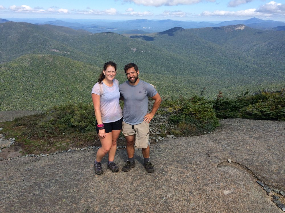 The top of Gothics - my favourite hike in the Adirondacks to date!