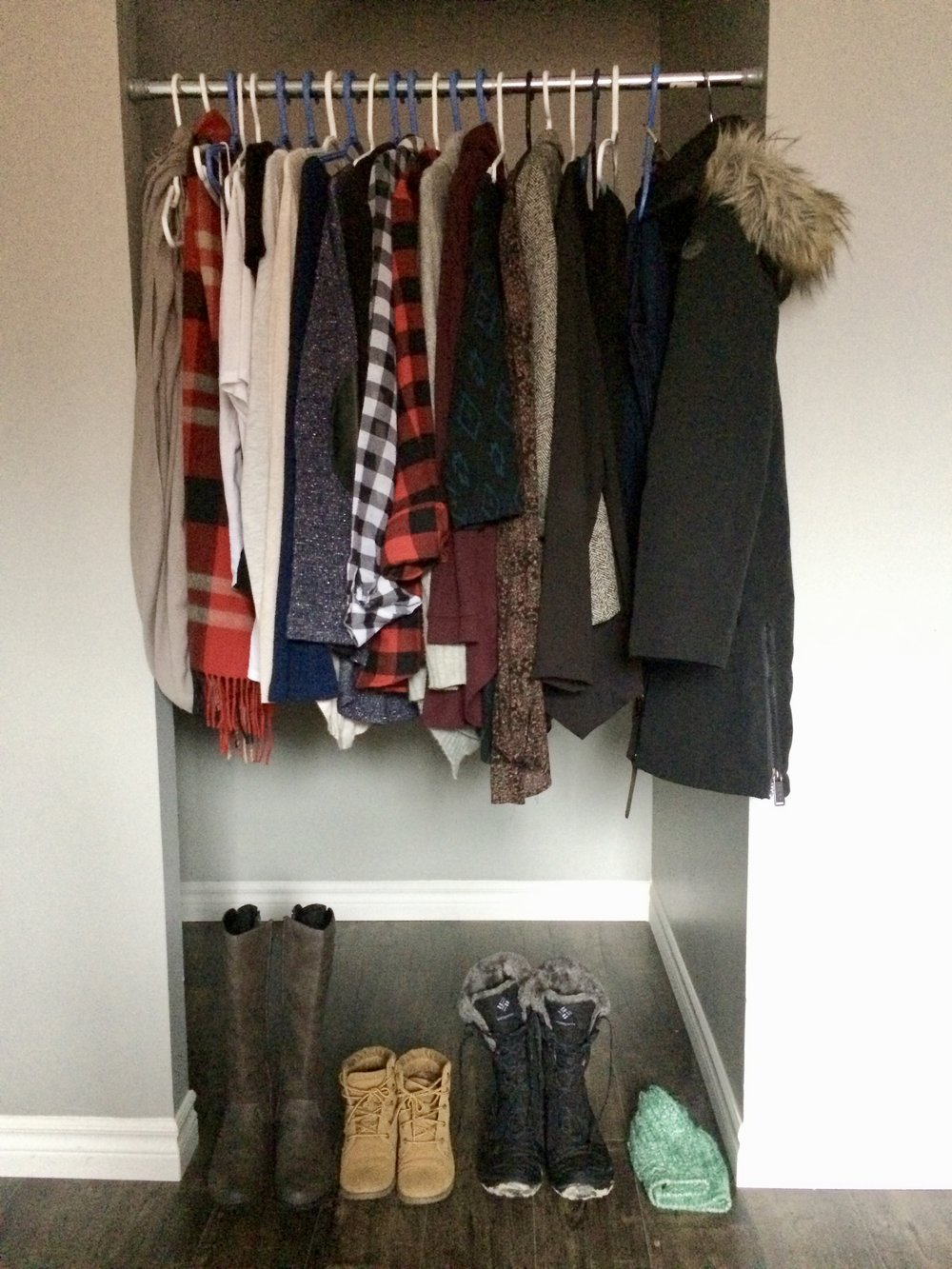 My winter capsule wardrobe! (1 of 2)