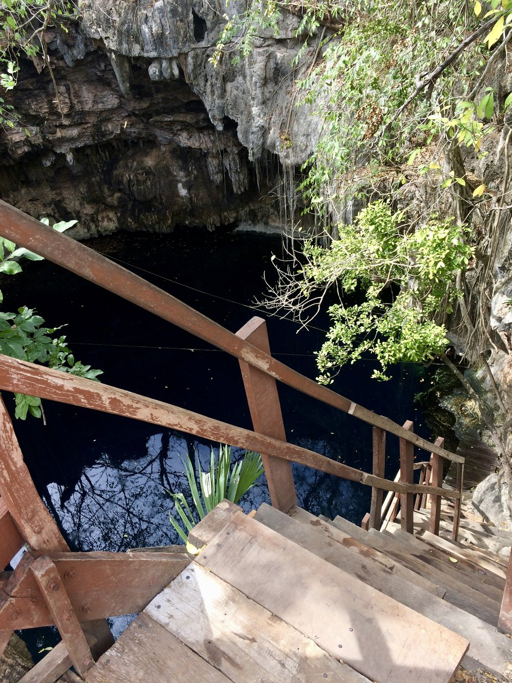 Cenote #3 - anyone care for a jump?