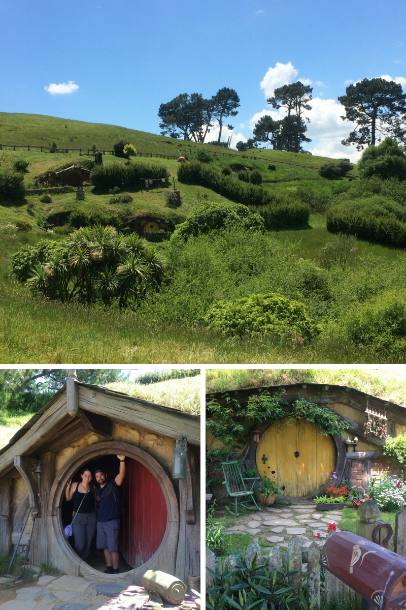 Exploring the Shire at The Hobbiton Movie Set, Matamata