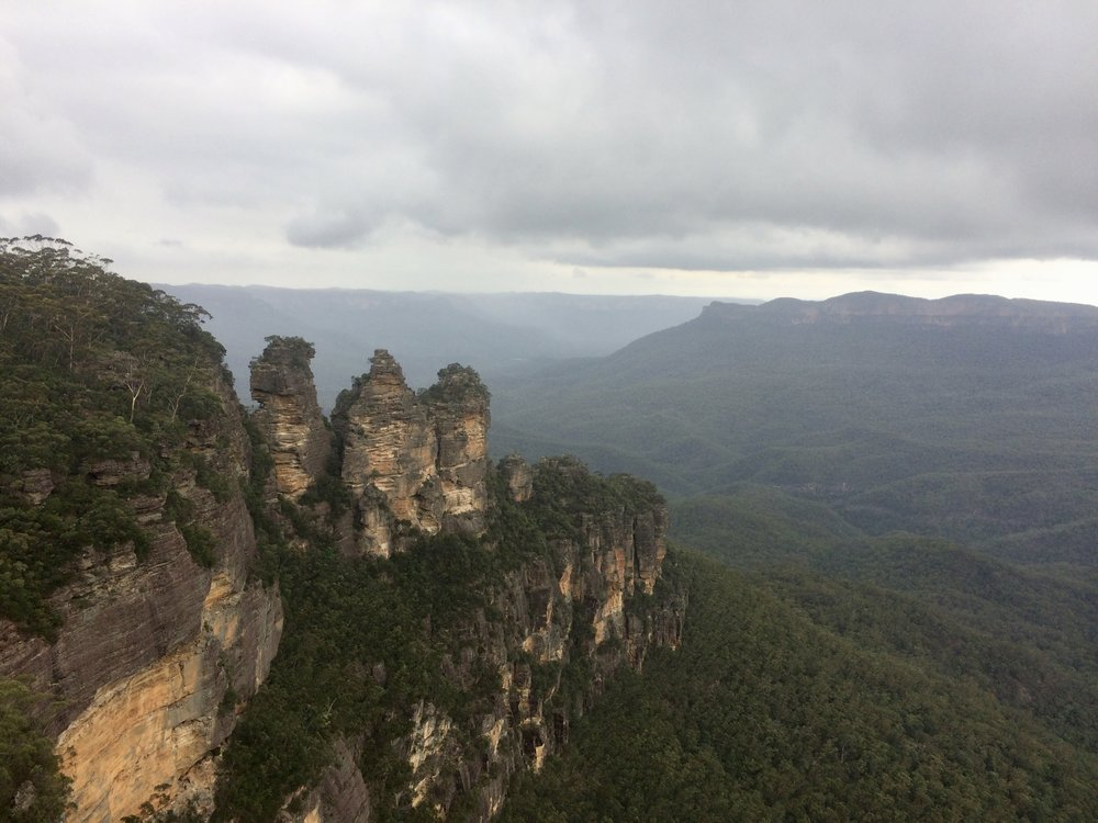 The Three Sisters - damn, don't those sisters look good!