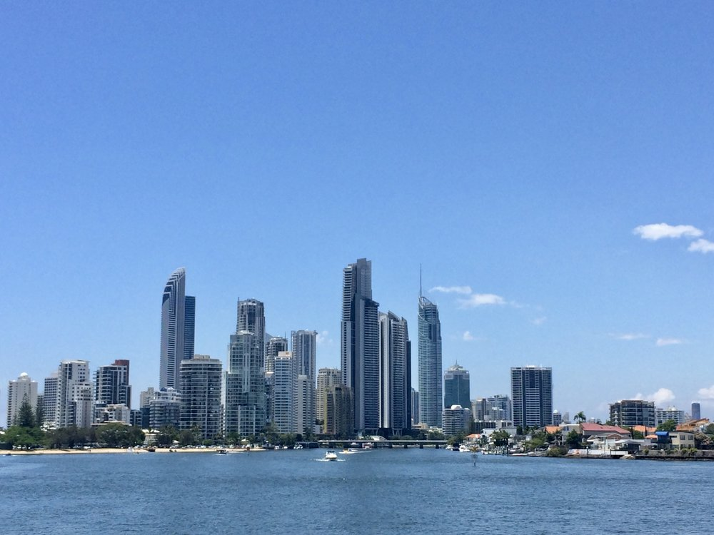 Surfers Paradise, a sprawling city of nonsense.