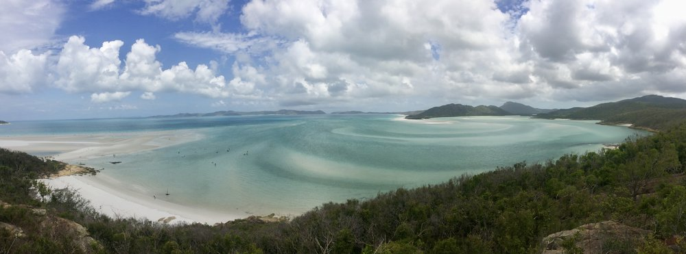 Whitehaven Beach - perhaps the most beautiful beach you will find!