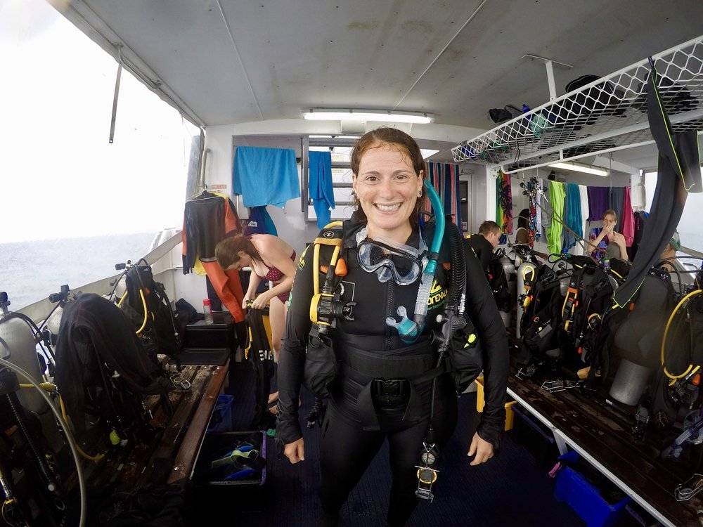 Officially an Open Water Diver with Pro Dive Cairns!