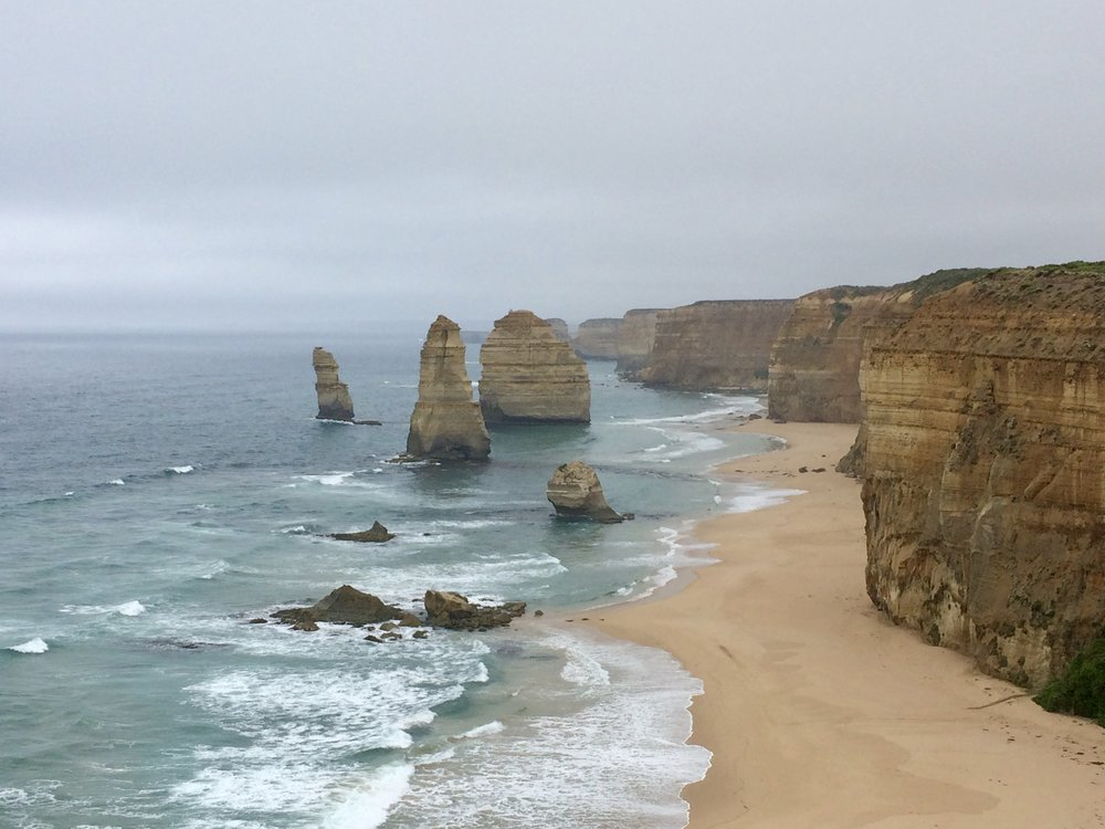 A few of the Twelve Apostles.