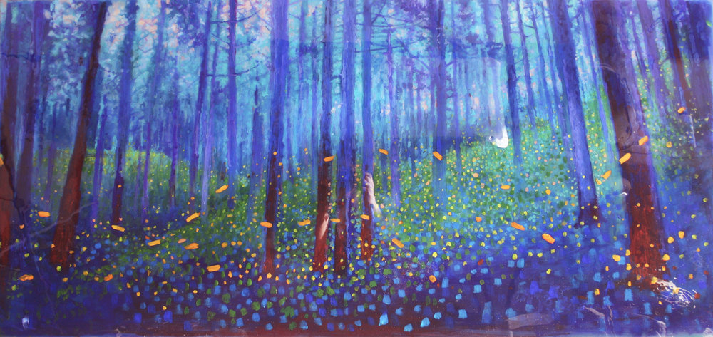 Blue Forest. June Nights big 30 x 60 2016.jpg