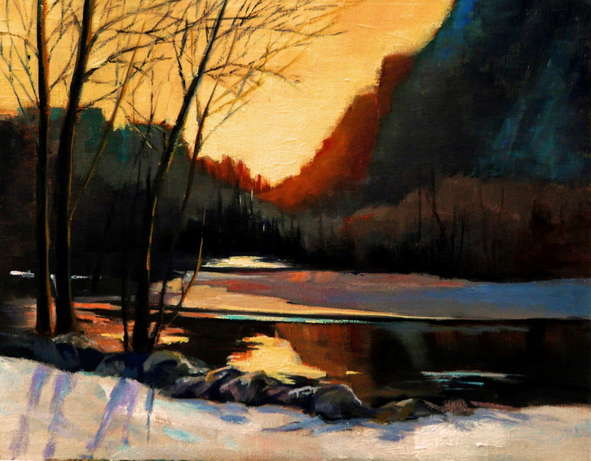 YR 26--Druian, Janice M., Twilight, Yosemite Valley in Winter.jpg