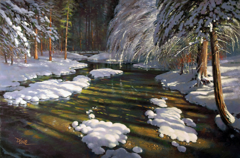 <b><i>Yosemite's First Snow,</b></i> David Will