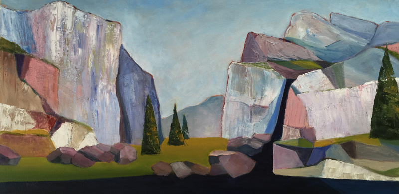 <b><i>Yosemite Valley Revisited,</b></i> Marge Kraber