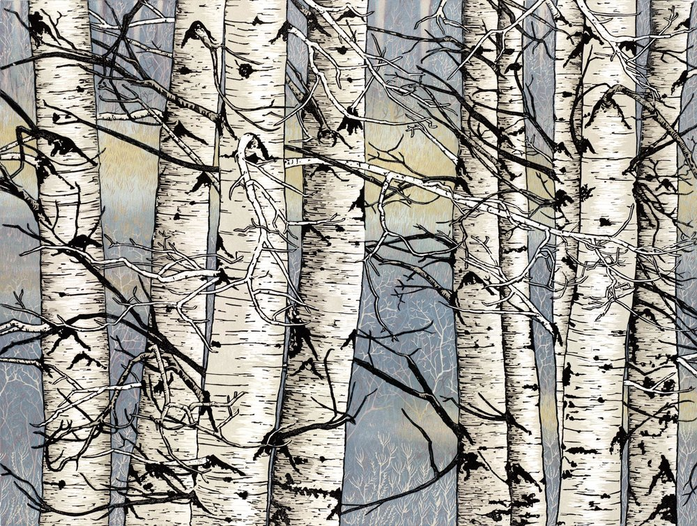 Autumn Aspens, Monique Wales