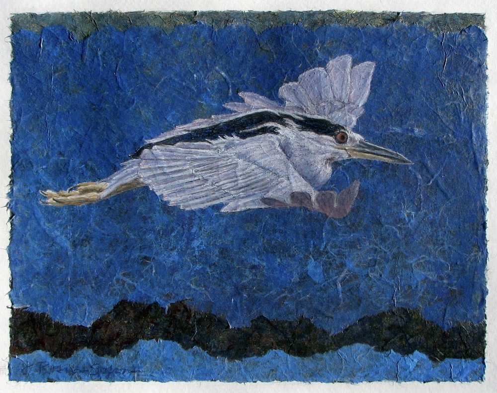 Night Heron, Jeanne Sofen