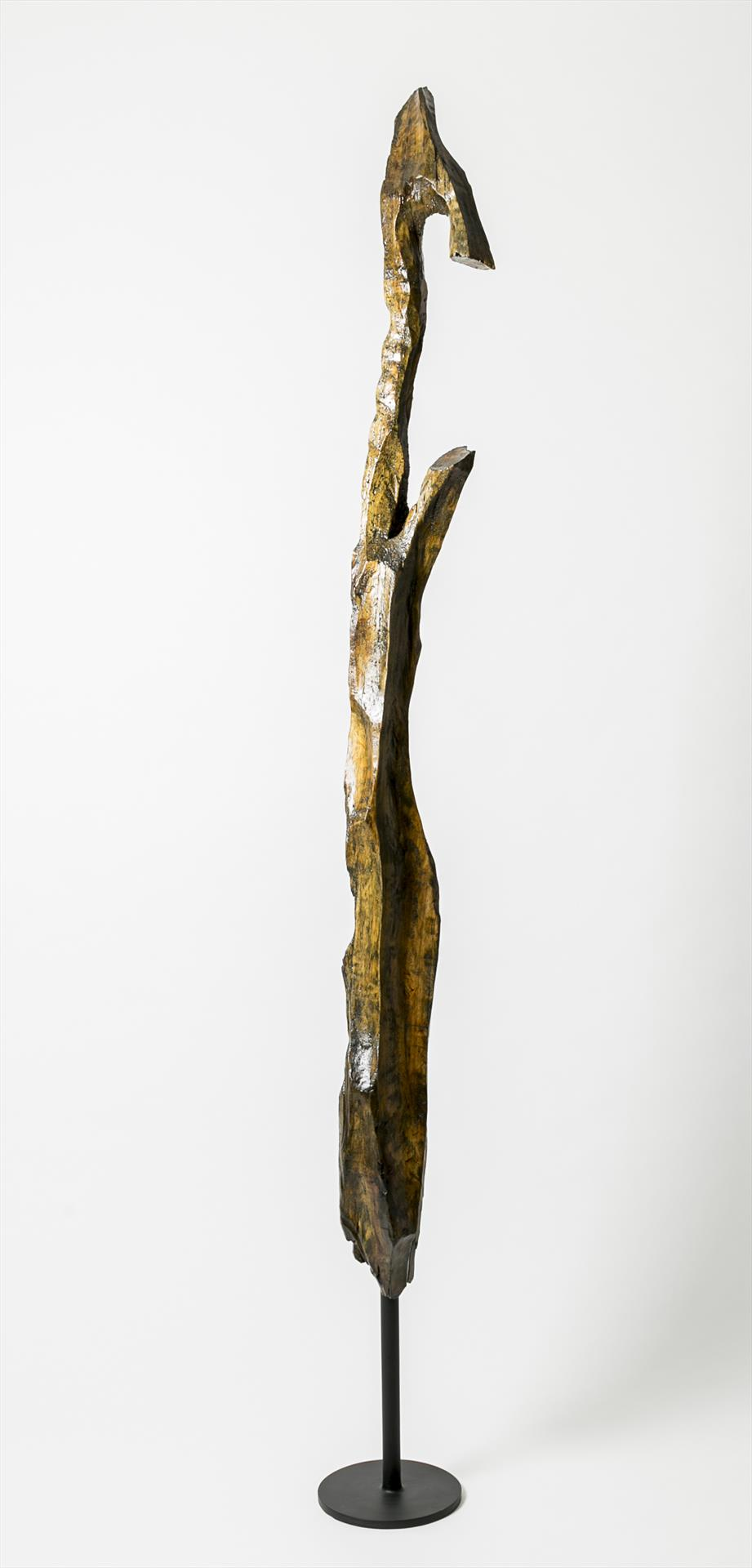Untitled. (Figurative Wood Sculpture, Pine #1), Dustin Kinsley