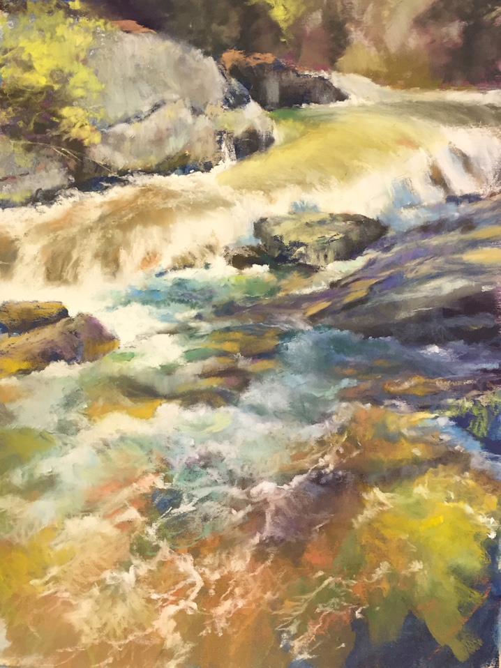 Bass Lake Waterfall, Daine Breuer
