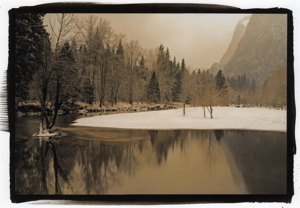 Merced River in Winter, Kerik Kouklis