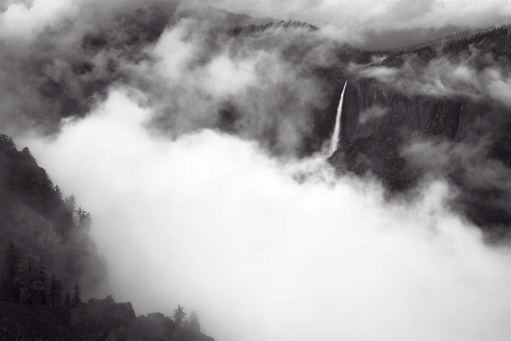 Fall and Clouds, YNP, Varner Leggitt