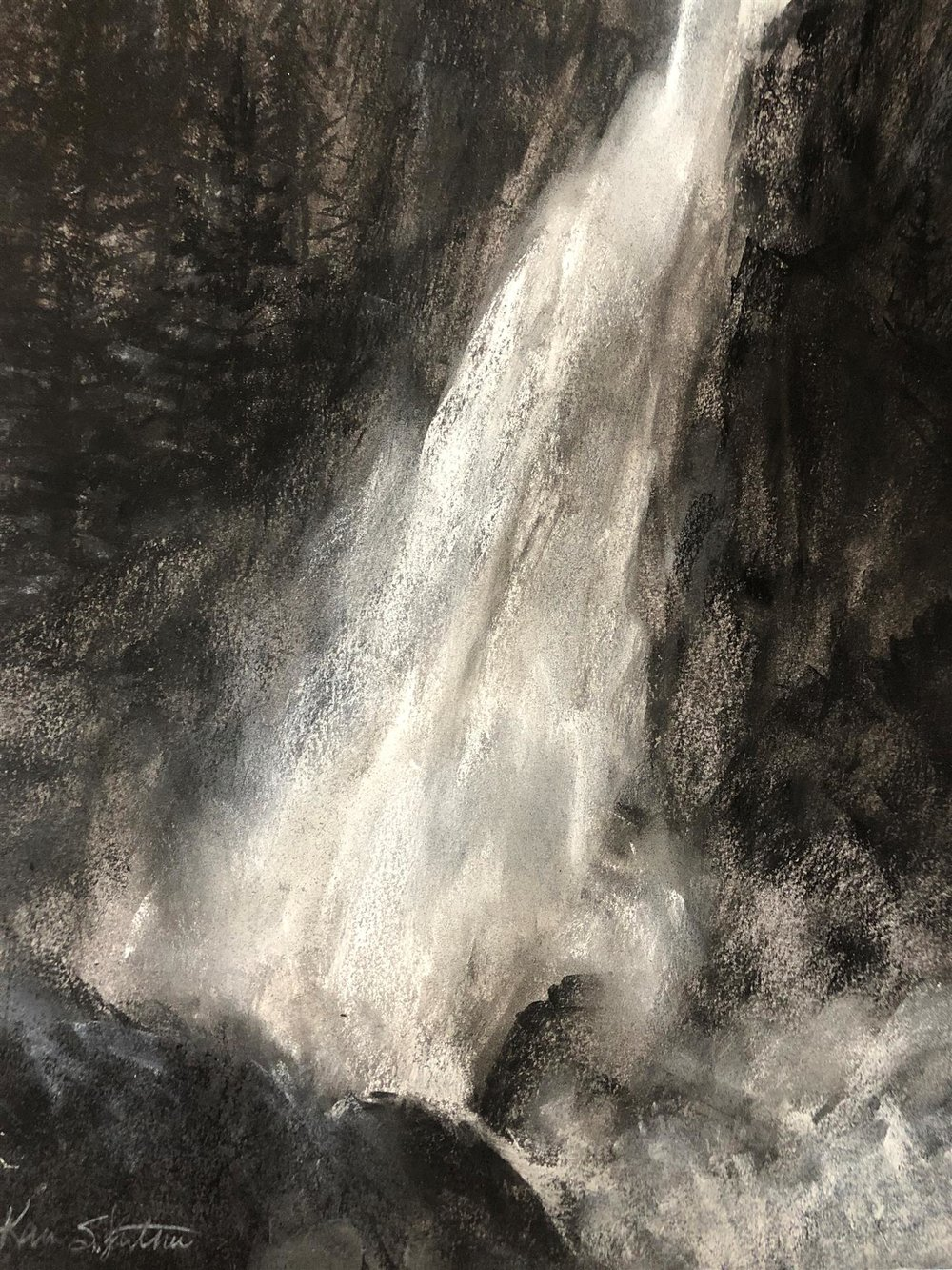 Wapama Falls, Karen Luther