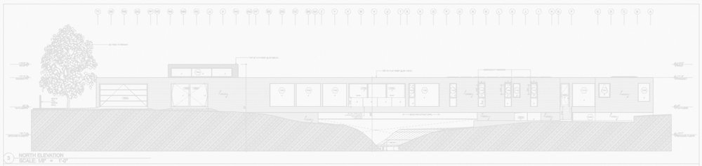 Bridge House elevation submittal drawing