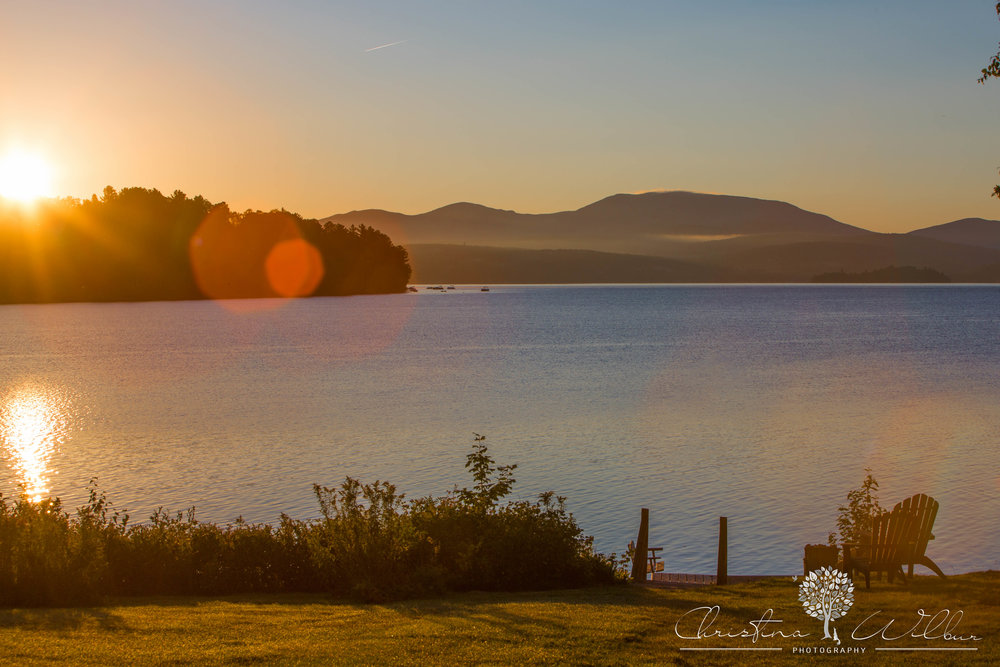 Another sunrise. Lake Rangeley, ME.