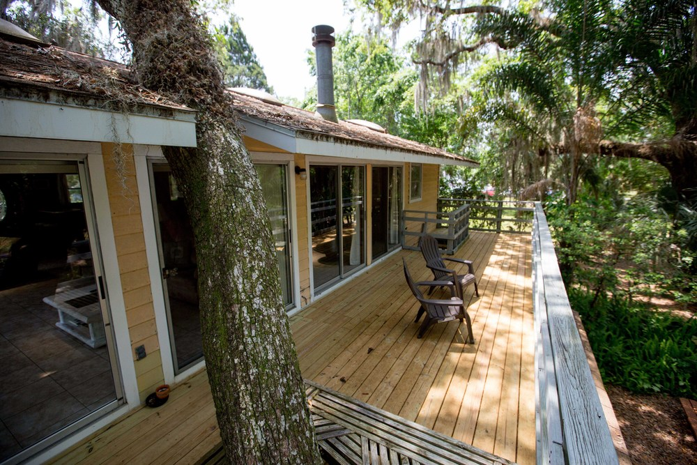 Riverfront Treetop Bungalow - on River Safaris Property