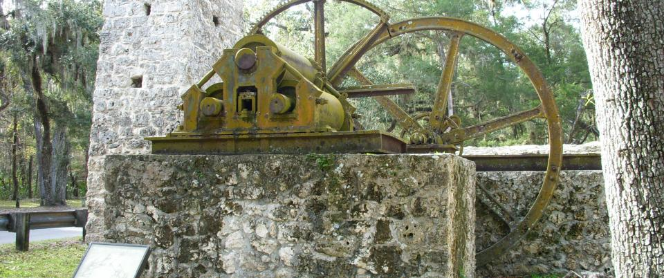 Yulee Sugar Mill Ruins Historic State Park Homosassa