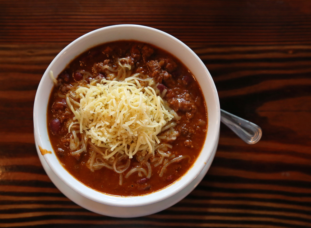 The chili also gets our vote.