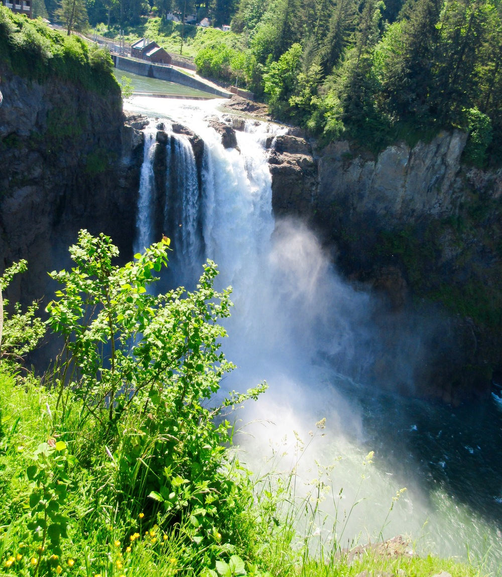 Snoqualmie Falls is a great day trip out of Seattle.