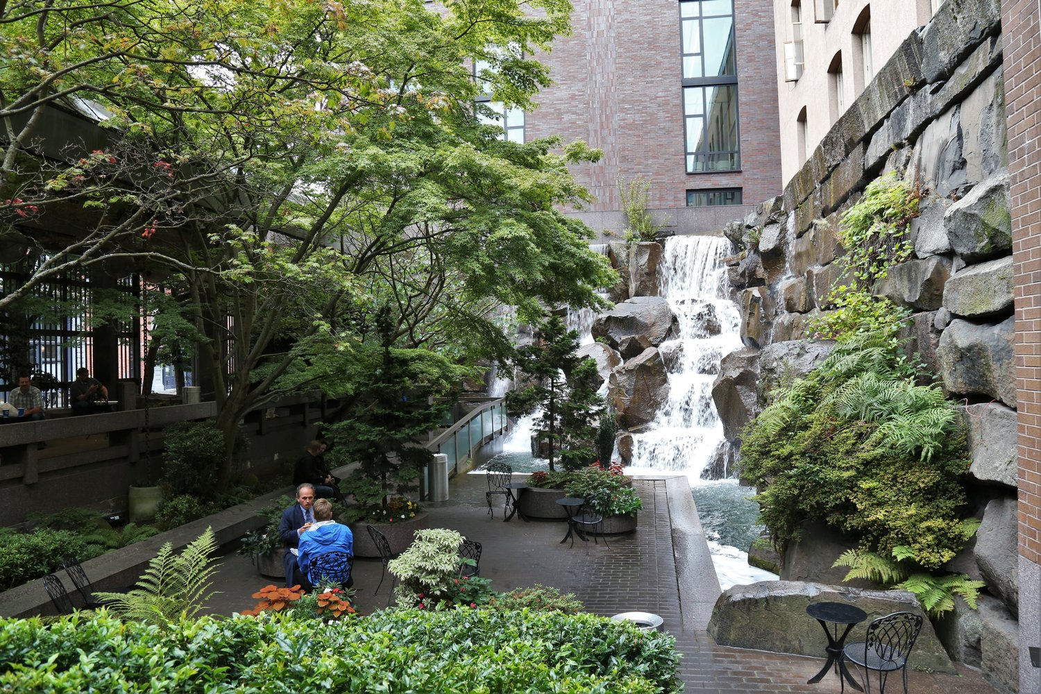 Jim Brown Today >> Seattle Secrets: Waterfall Garden Park — Rain or Shine Guides