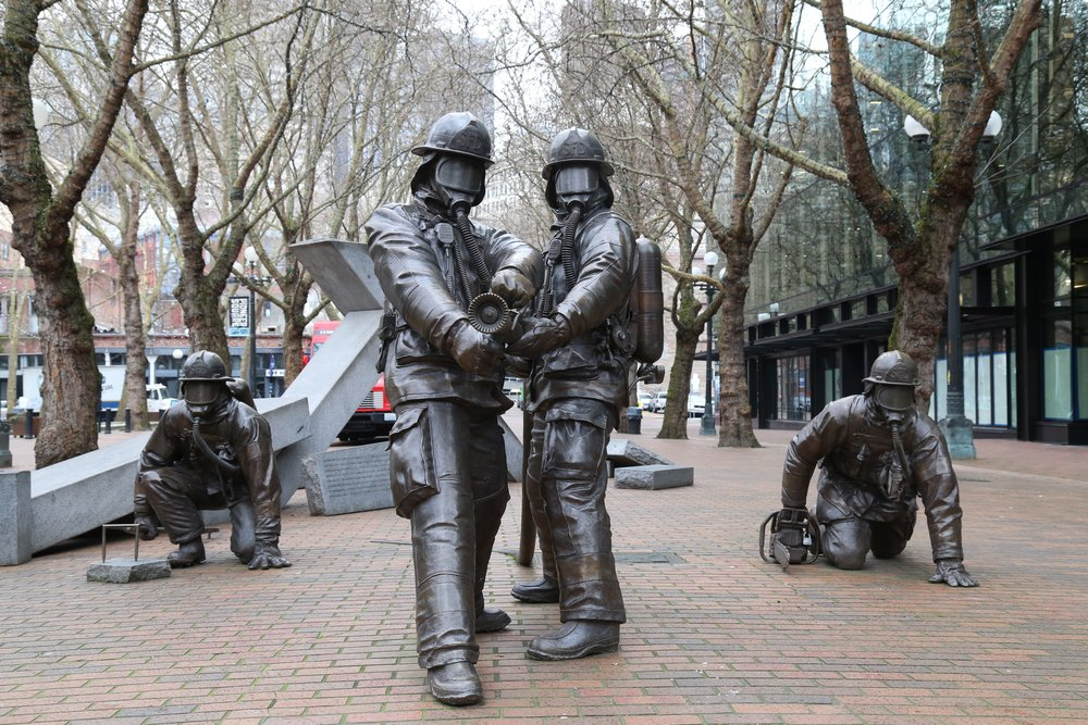Occidental Park Firemen